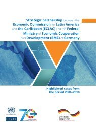 Strategic partnership between the Economic Commission for Latin America and the Caribbean (ECLAC) and the Federal Ministry of Economic Cooperation and Development (BMZ) of Germany