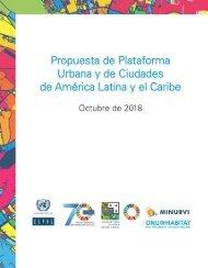 Propuesta de Plataforma Urbana y de Ciudades de América Latina y el Caribe