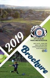 2019 Parks and Rec Brochure