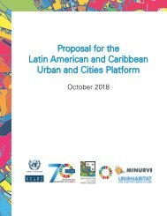 Proposal for the Latin American and Caribbean Urban and Cities Platform