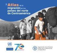 Atlas de la migración en los países del norte de Centroamérica