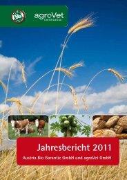 Jahresbericht Service der Austria Bio Garantie NOP - agrovet