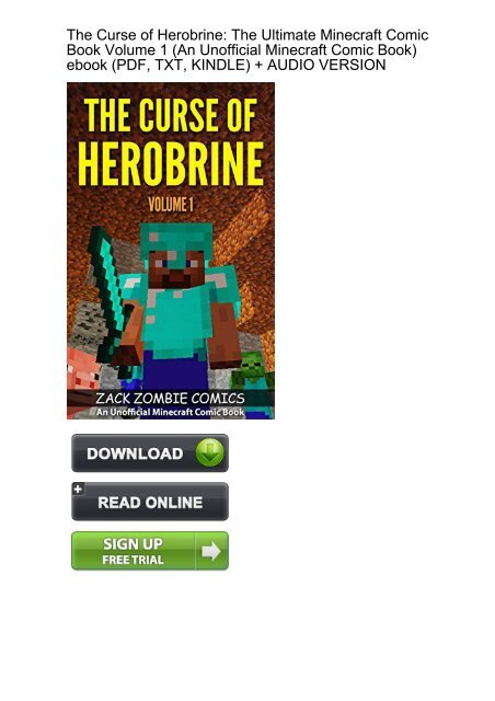 CAPABLE) Download Curse Herobrine Ultimate Minecraft Unofficial