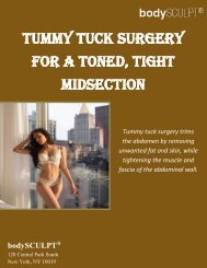 Tummy Tuck Surgery for a Toned, Tight Midsection