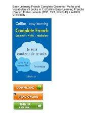 (JACKPOT) Learning Complete Grammar Vocabulary Collins ebook eBook PDF Download