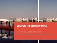Udaipur: The Venice of India