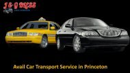 Get the Car Transport Service in Princeton, NJ