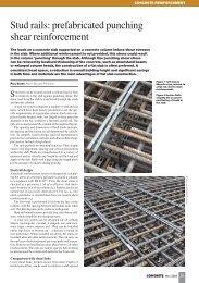 Stud rails - Ancon Building Products