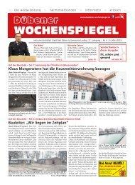 Dübener Wochenspiegel - Ausgabe 04 - Jahrgang 2019