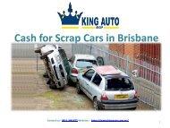 Cash for Scrap Cars in Brisbane