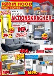 Aktionskracher! Sofort zugreifen - Robin Hood Möbel + Küchen - 78166 Donaueschingen