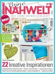 Zeitschrift: Meine Nähwelt Nr. 2/2019