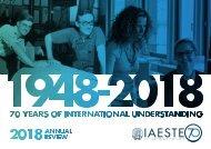 IAESTE Annual Review 2018