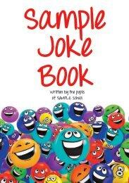 SAMPLE Joke Book