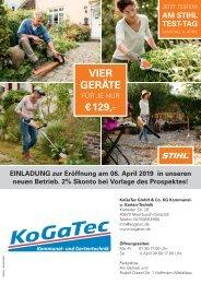 Stihl KoGaTec Frühjahrsprospekt