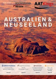 AAT Kings Gruppenreisen & Kurztouren in Australien und Neuseeland 2019/20 - Schweizer Preise
