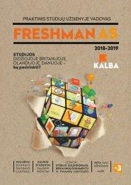 Freshman'as 2019