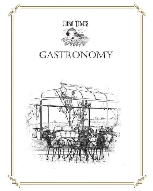 Gastronomy - en - terasa