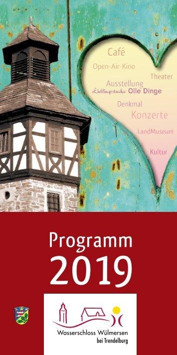 Wasserschloss Wülmersen 2019
