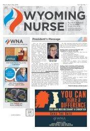 Wyoming Nurse - March 2019