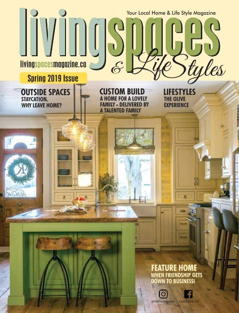 Spring 2019 Issue-LivingSpaces and Lifestyles Magazine