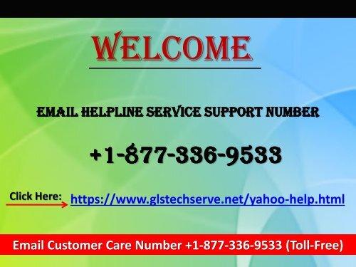 Email Service Support Helpline Number 1877-503-0107