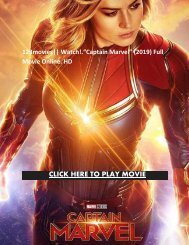 """123movies~ Watch!""""Captain Marvel"""" (2019) Full Movie Online HD"""