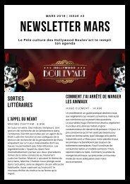 Newsletter BDA - Mars 2019