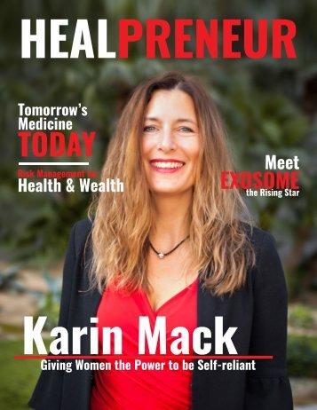 HealPreneur Interview: Karin Mack