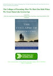 [EPUB] Download The Collapse of Parenting: How We Hurt Our Kids When We Treat Them Like Grown-Ups by Leonard Sax Download file