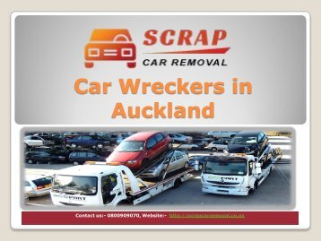 Car Wreckers in Auckland (scrapcarremoval)