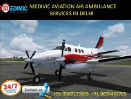Air Ambulance service in Delhi by Medivic Aviation |  Air Ambulance services in Patna by Medivic Aviation