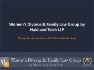 Who is the best divorce lawyer in Chicago- womensfamilylawyers.com