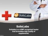 Natural Probiotics Supplements – SolisLabs
