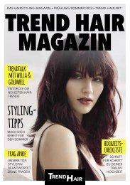 Trend Hair Magazin Frühjahr/Sommer 2019