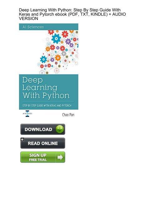 Free Download Pdf Ebook Deep Learning – Meta Morphoz