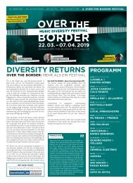 Over the Border - Newspaper 2019