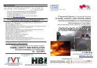 tunnel safety and ventilation - Graz University of Technology
