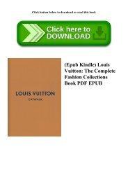 (Epub Kindle) Louis Vuitton The Complete Fashion Collections Book PDF EPUB