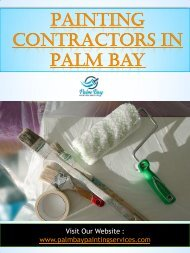 Painting Contractors In Palm Bay