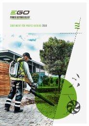 EGO Profi Katalog 2019