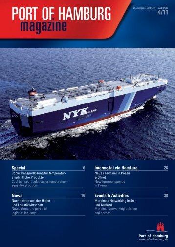 Port of Hamburg Magazin 04