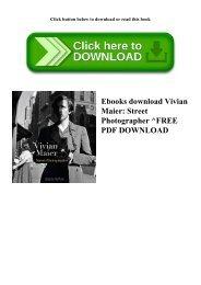Ebooks download Vivian Maier Street Photographer ^FREE PDF DOWNLOAD