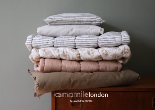 2019:2020 camomile london collection catalogue