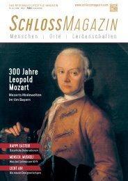 SchlossMagazin März 2019 Bayerisch-Schwaben und Fünfseenland