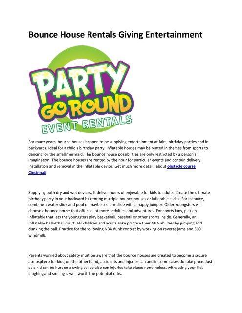 5 Party Go Round