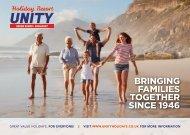 Holiday Resort Unity 2019 Brochure