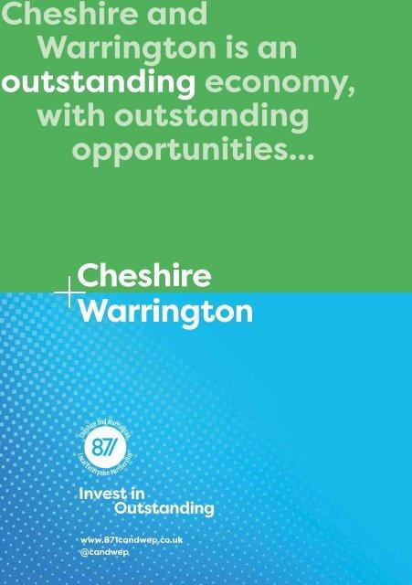 Cheshire & Warrington at MIPIM 2019