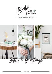 Paper Art: Art of Giving - Gift & Greetings