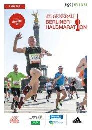 Das offizielle Programmheft zum GENERALI BERLINER HALBMARATHON 2019